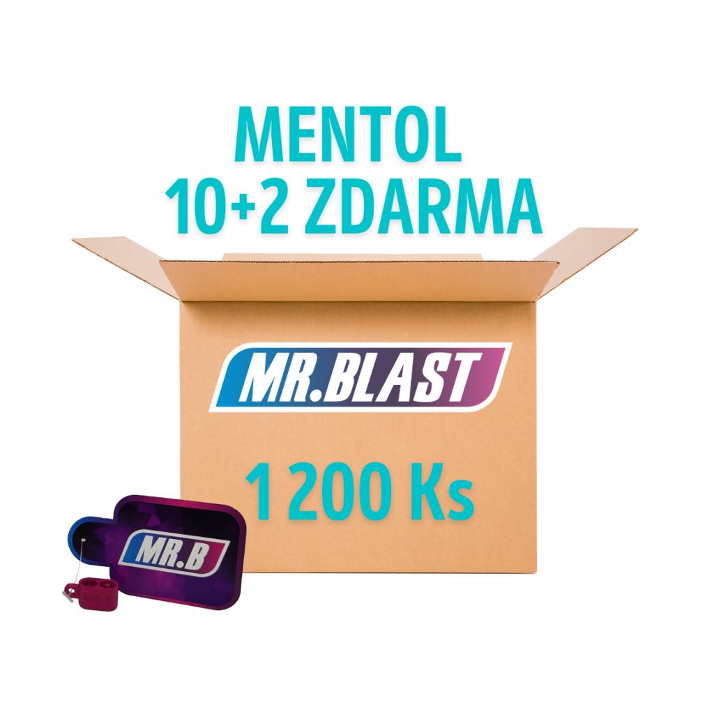 Práskací kuličky - Mentol 10 + 2 ZDARMA