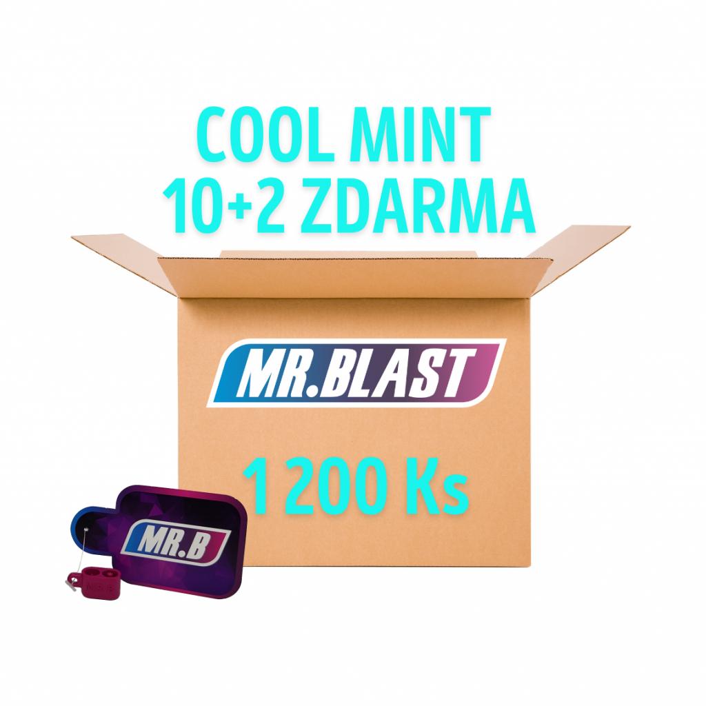 Práskací kuličky - Cool mint 10 + 2 ZDARMA