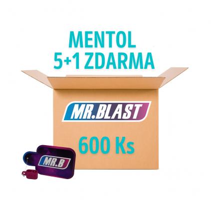 Práskací kuličky - Mentol 5 + 1 ZDARMA