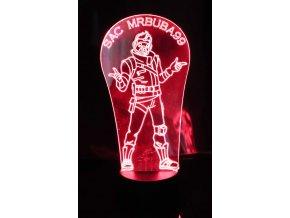 """3D lampa """"SAC MRBUBA99"""""""