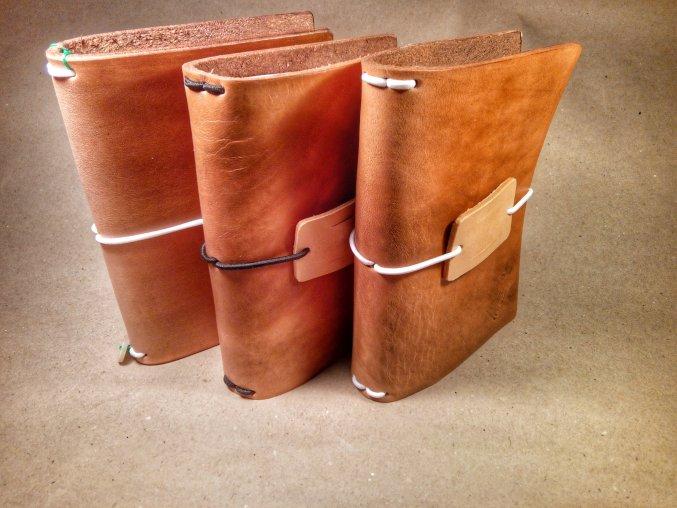 Obal na zápisník - travel journal