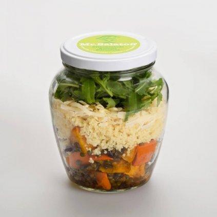 saláty Salát spečenou dýní a kuskusem