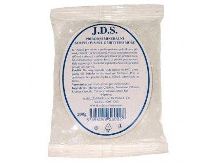 J.D.S.Přírodní minerální koupelová sůl z Mrtvého moře 2