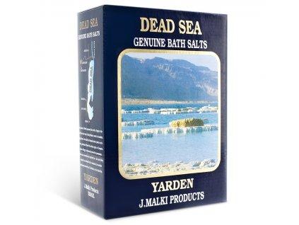 Malki - Přírodní minerální koupelová sůl z Mrtvého moře 2X500g