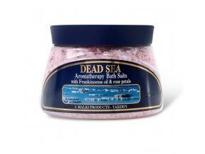 Malki - Aromaterapeutická minerální koupelová sůl z Mrtvého moře s kadidlovníkovým olejem 500ml
