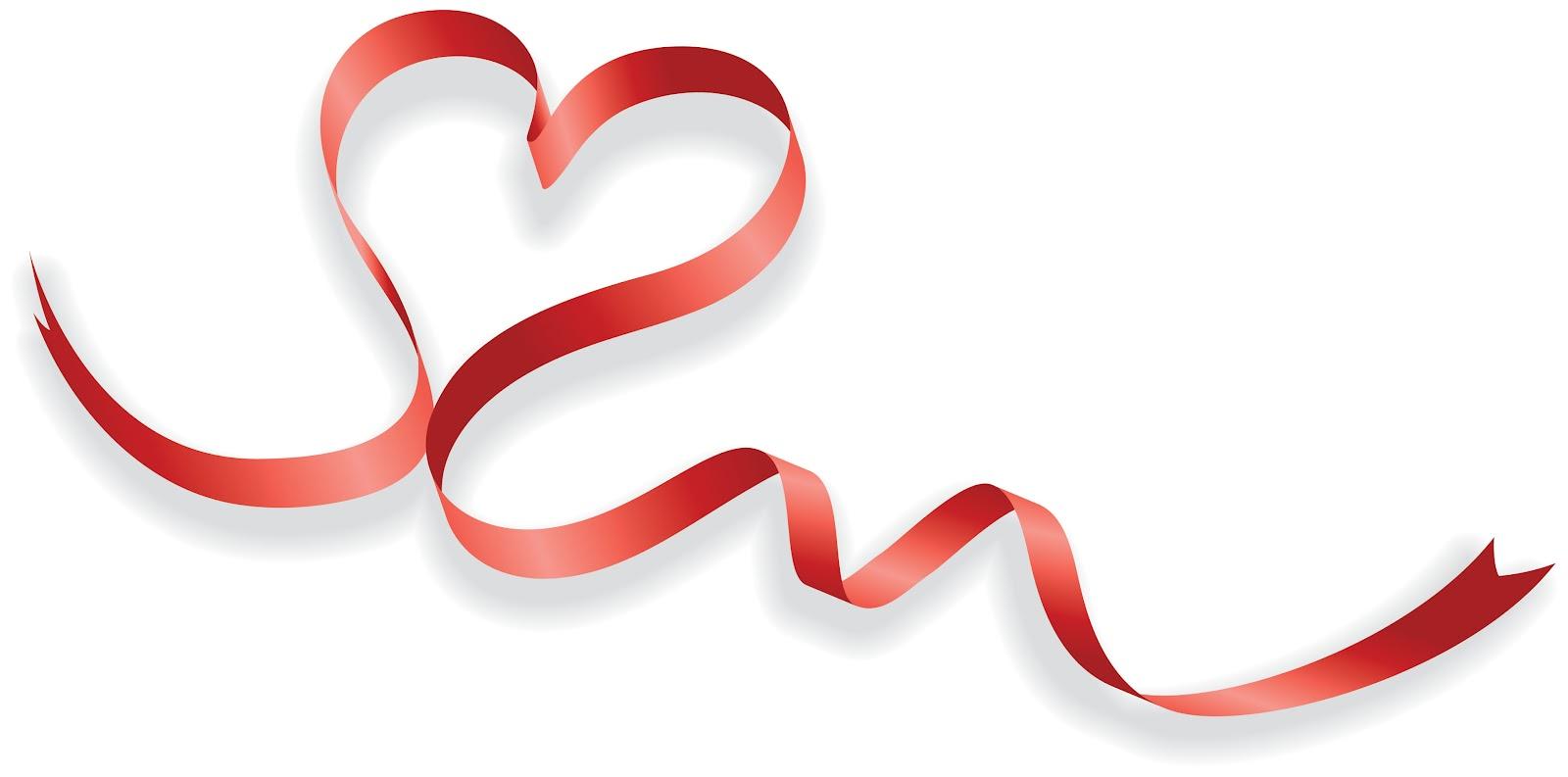 Unique-red-ribbon-heart-to-heart-wedding-invitations-ukf154-wedding