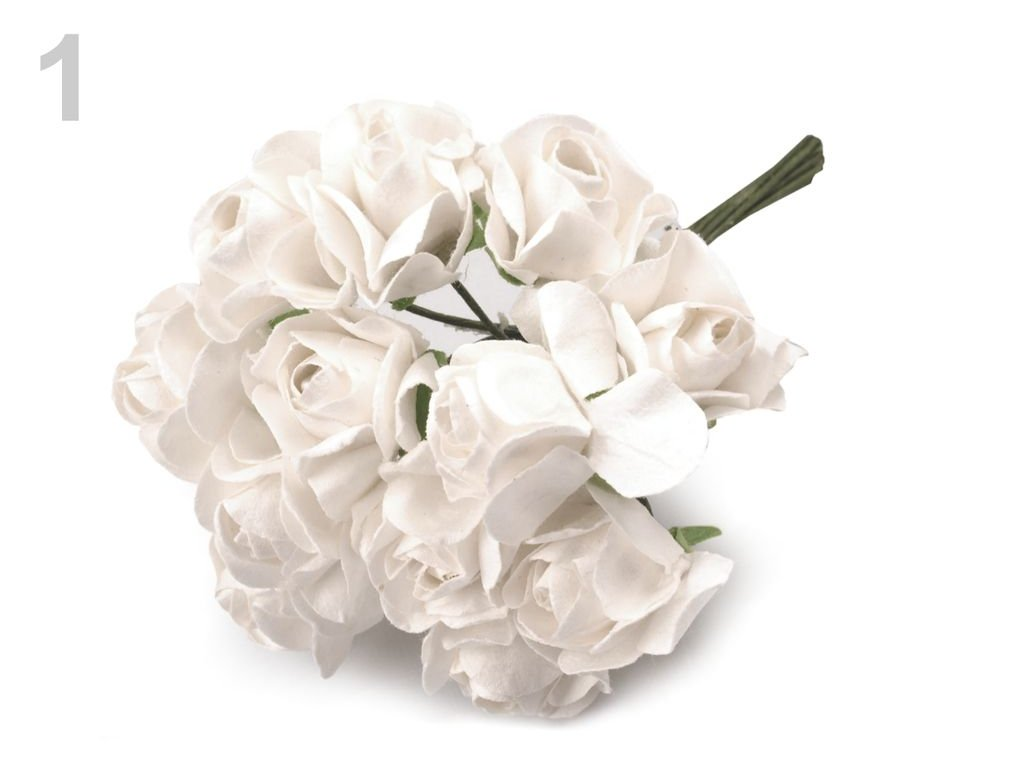 Ruža dĺžka 7 cm