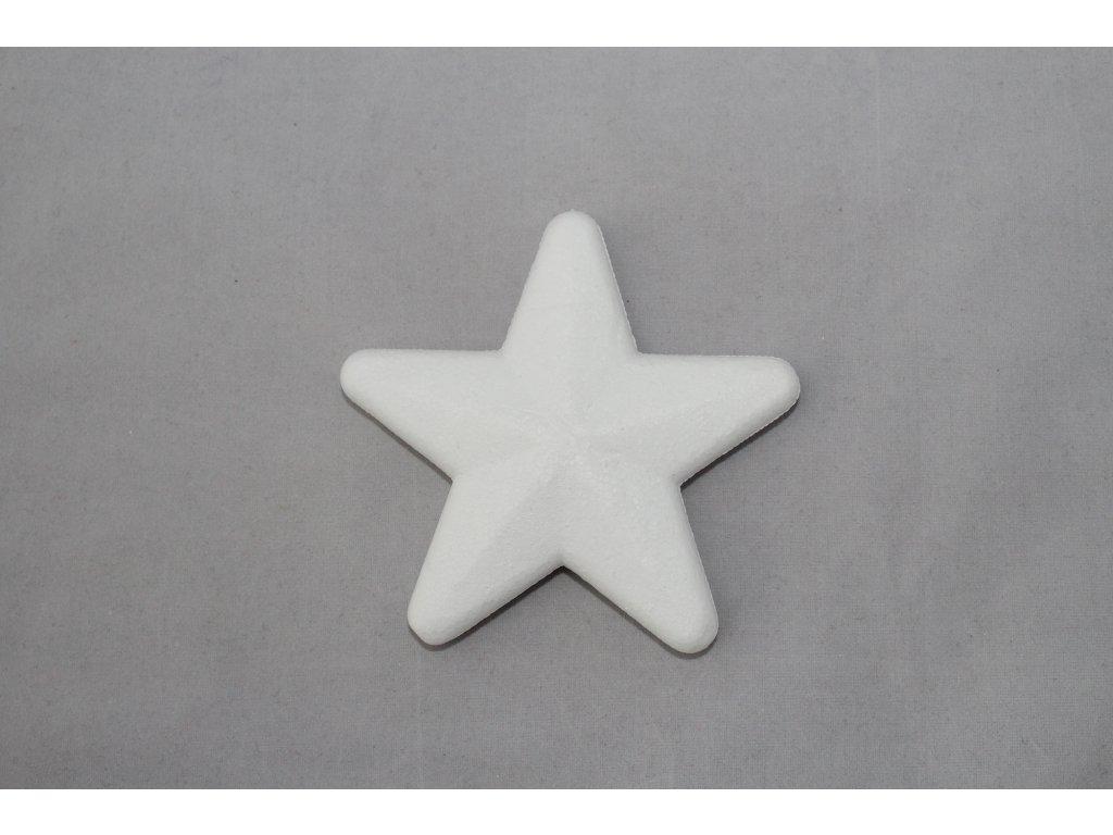 Hviezda 10cm polystyrén