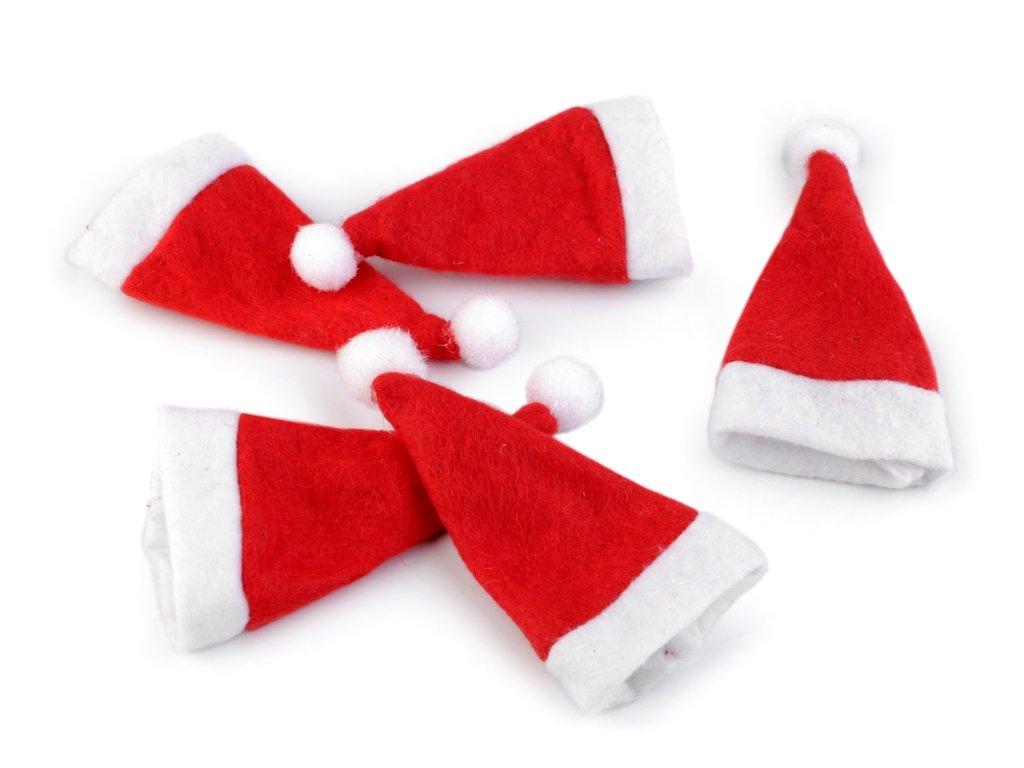 Mini vianočná čiapka