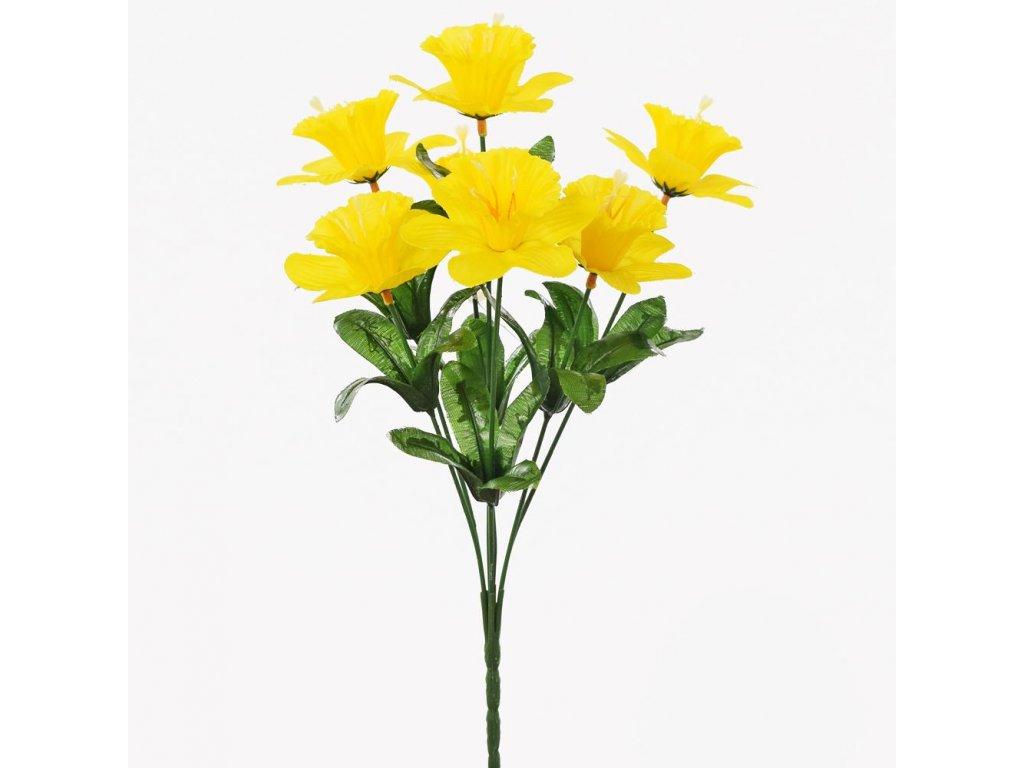 Umelý kvet narcis 14cm