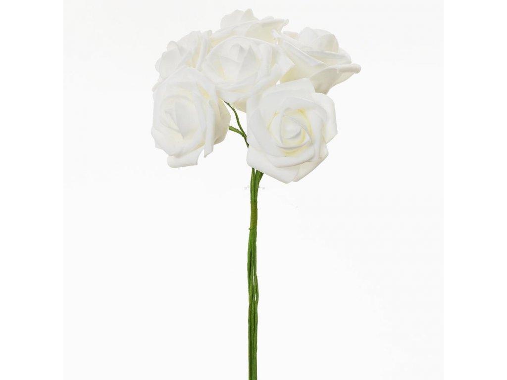 Ruža penová zv. 6ks