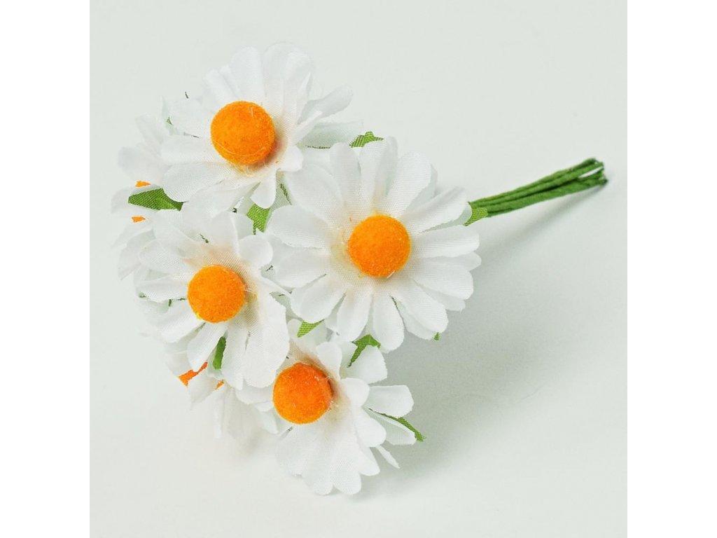 Umelý kvet margarétka vz.6ks