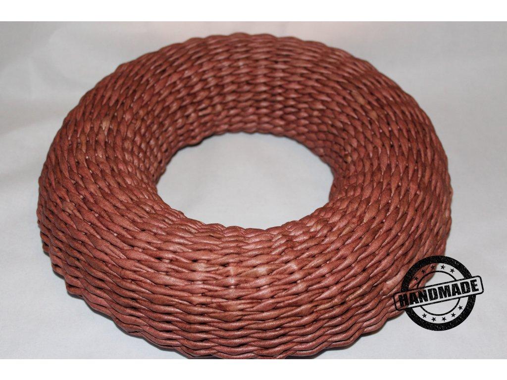 Venček pletený z papiera 26cm