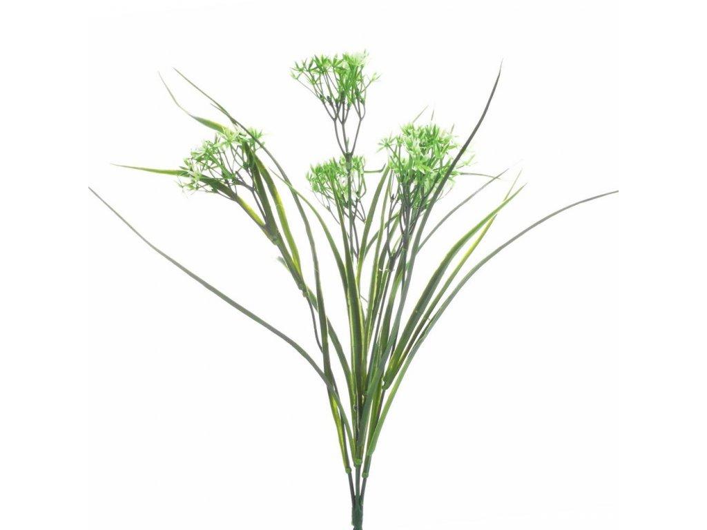 Zápich umelé kvety 20cm