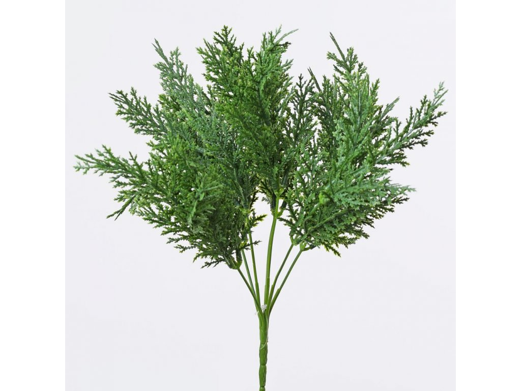 Zápich zelená čečinka 25cm