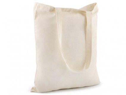 Textilná taška bavlnená na domaľovanie 34x39 cm