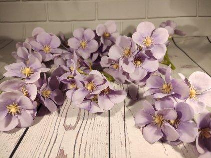 Hlava kvet hortenzia 10cm