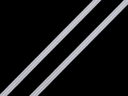 Plochá gumička šírka 4 mm