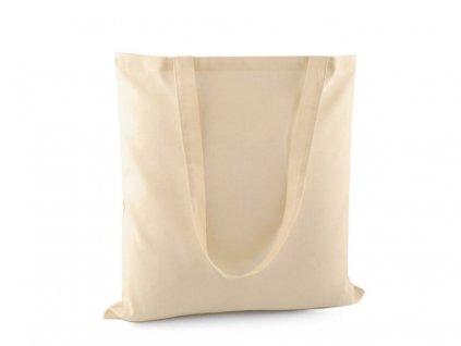 Textilná taška bavlnená na dotvorenie 40x42 cm