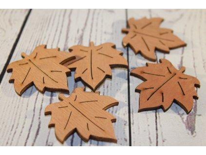 Jesenné drevené výrezy - MIX