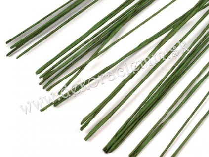 Floristický drôt Ø0,6 mm, dĺžka 40 cm