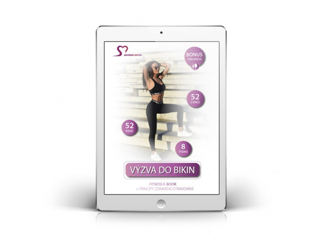 VÝZVA DO BIKIN - FITNESS E-BOOK