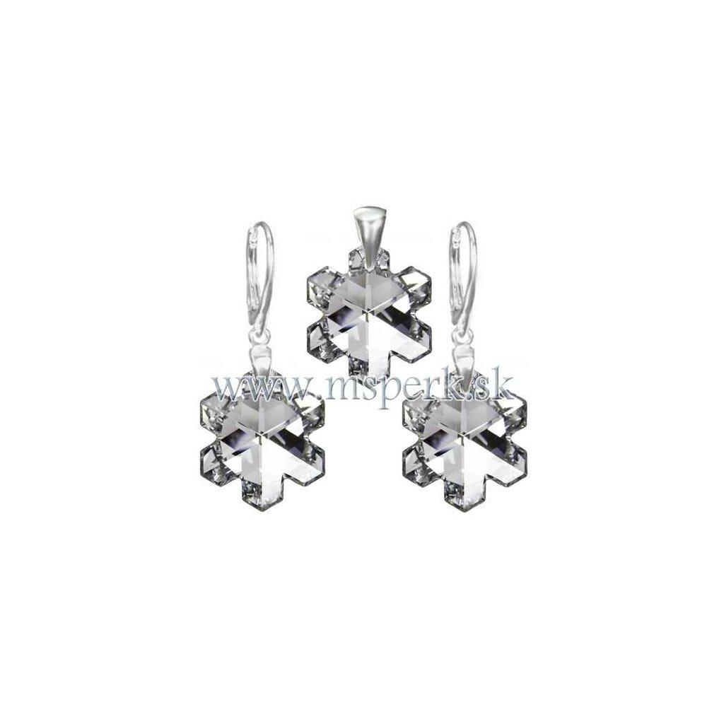 Exkluzívny set SWI crystal v tvare vločky