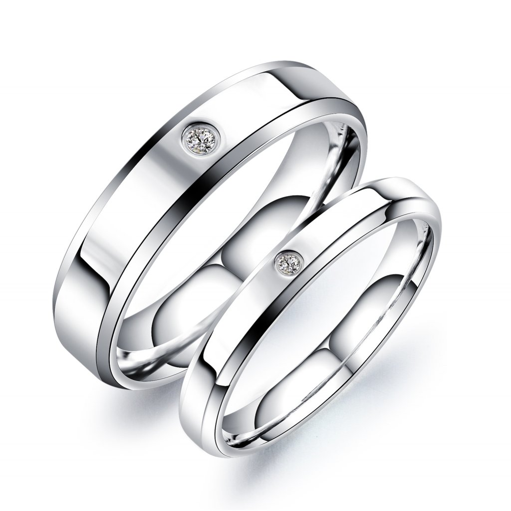 Wholesale Stainless Steel Wedding Ring 2019