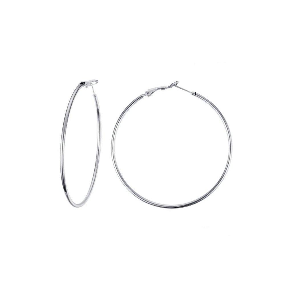 Náušnice kruhy z chirurgickej ocele 60 mm
