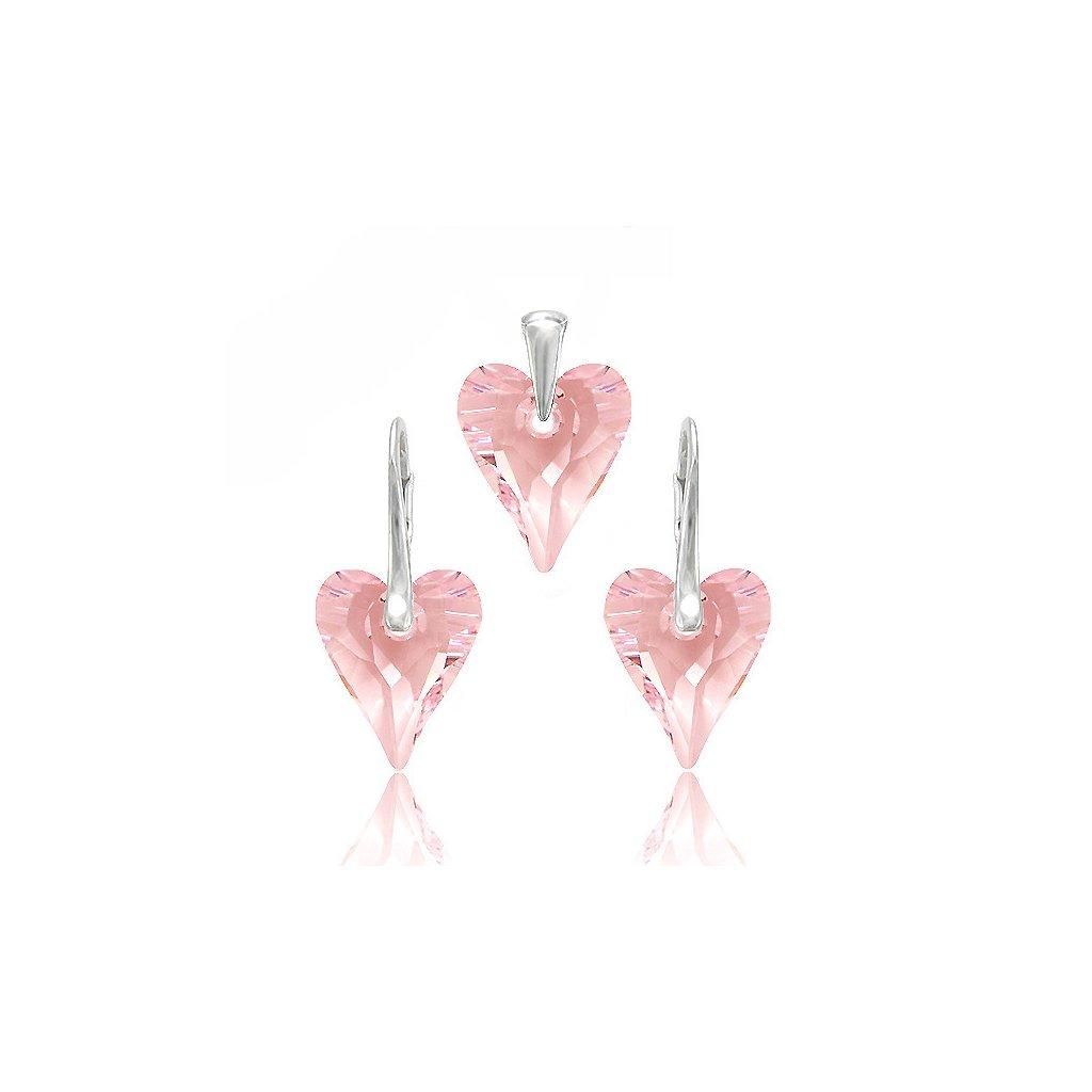 2 vyr 467souprava swarovski wild heart rosaline