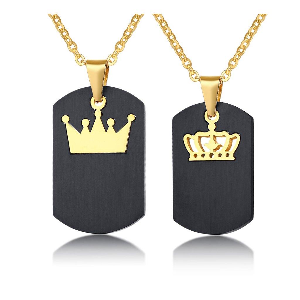 Prívesky s kráľovskou korunou