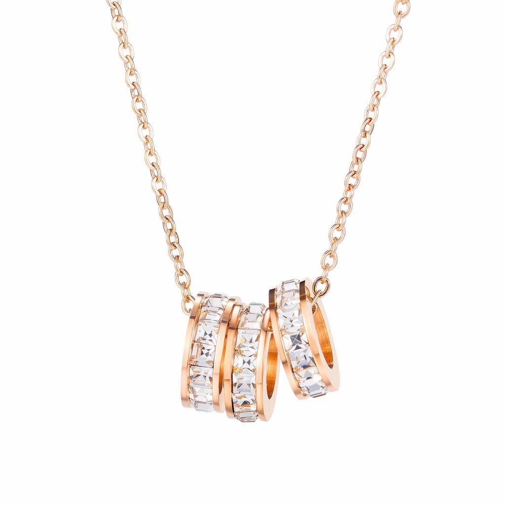 Dámsky náhrdelník so zirkónmi 1