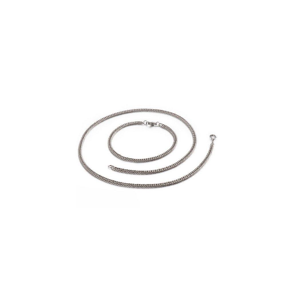 Súprava z chirurgickej ocele 4 mm