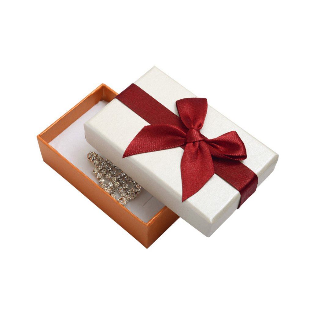 Darčeková krabička na prstene a obrúčky