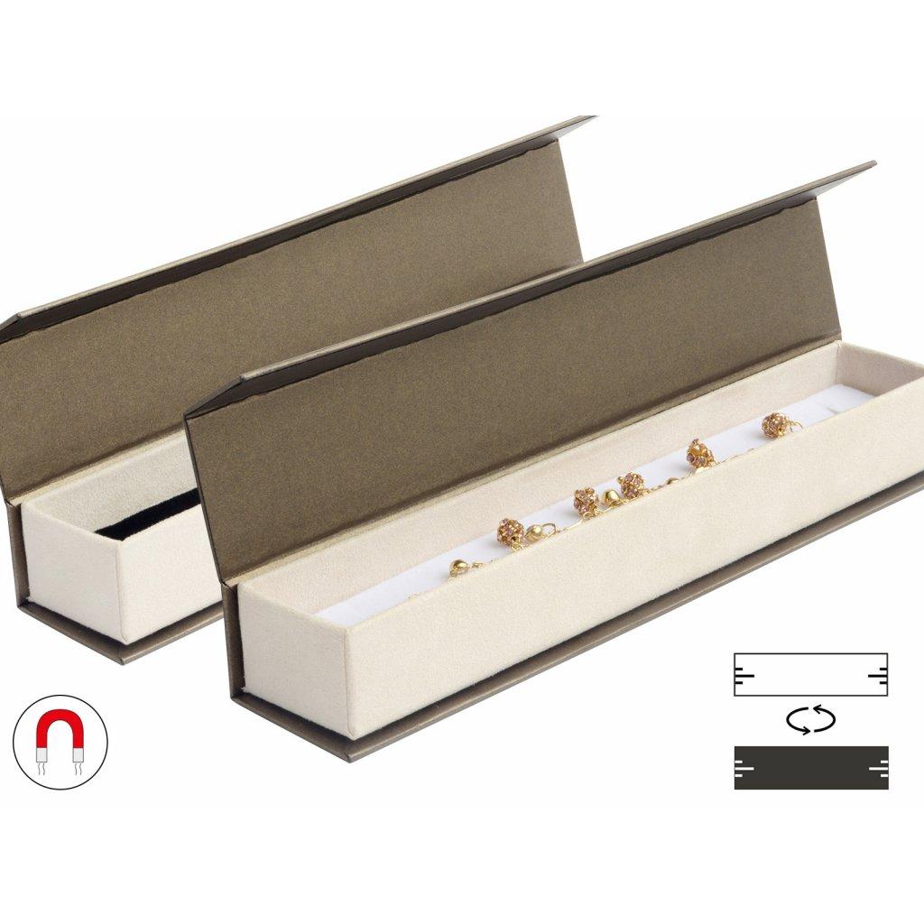 Luxusná darčeková krabička na náramok