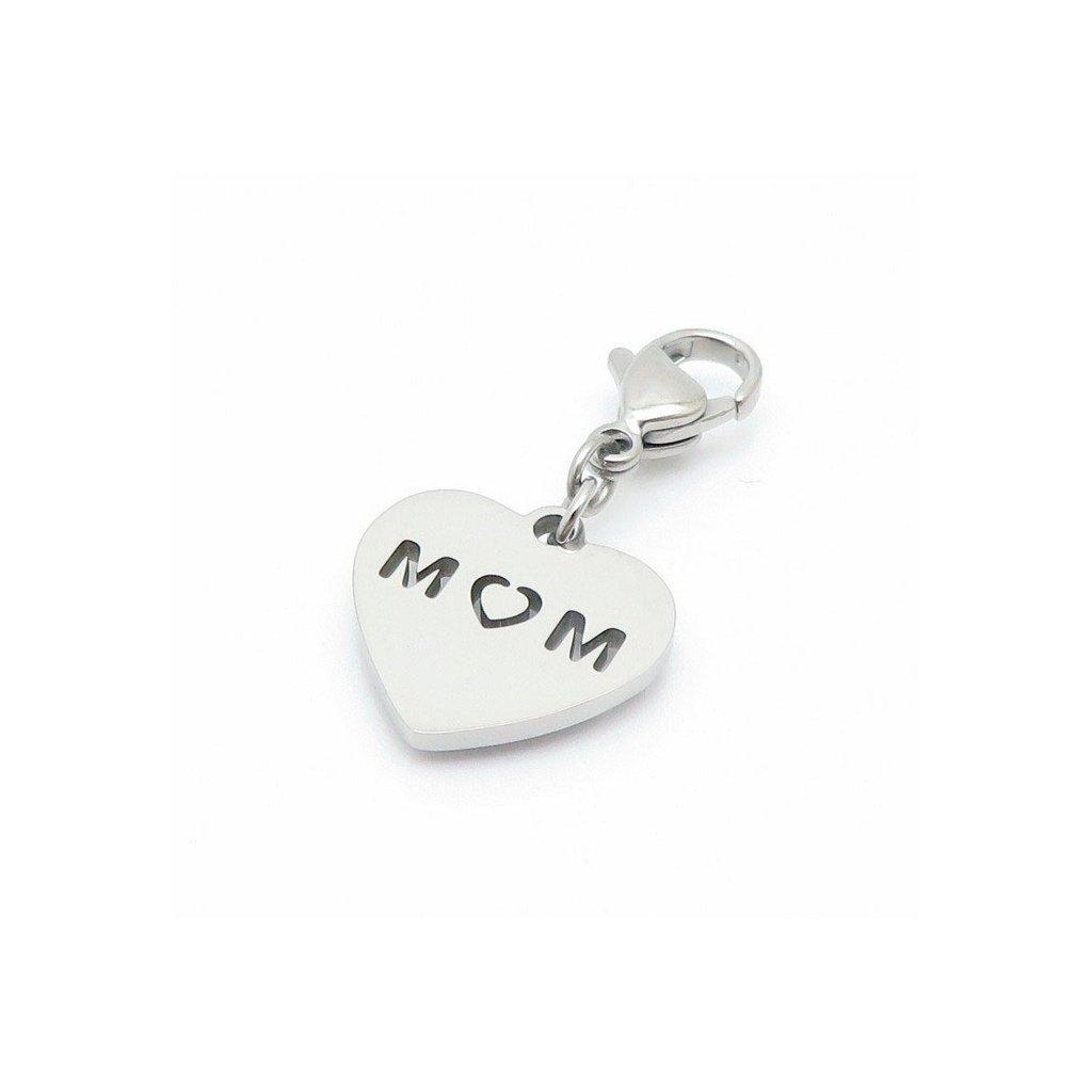 Kľúčenka pre mamu v tvare srdca