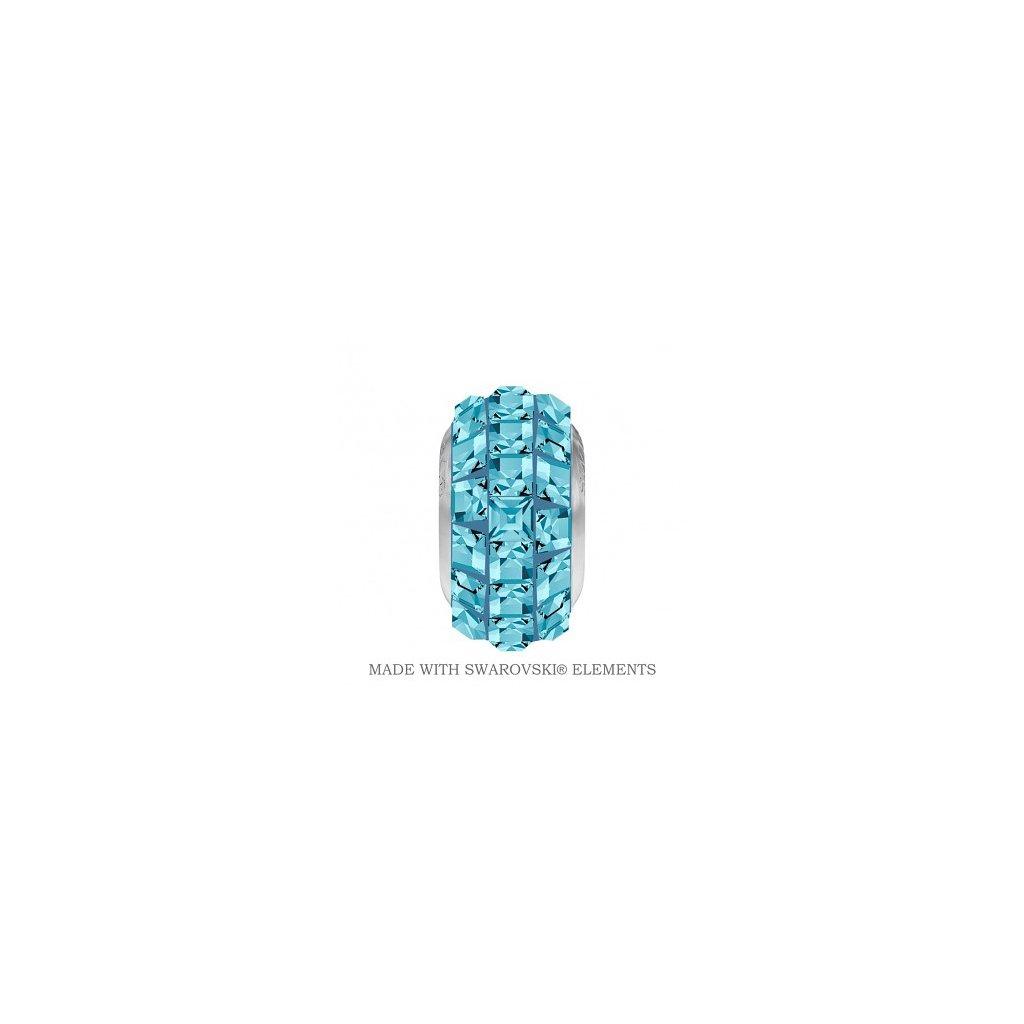 BeCharmed Pave Crystal Aquamarine