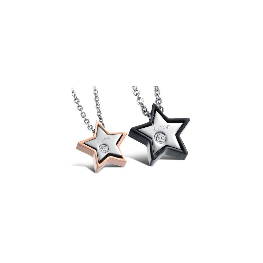 Prívesok hviezda pre zamilovanú dvojicu - mŠperk.sk be65f3c2c62