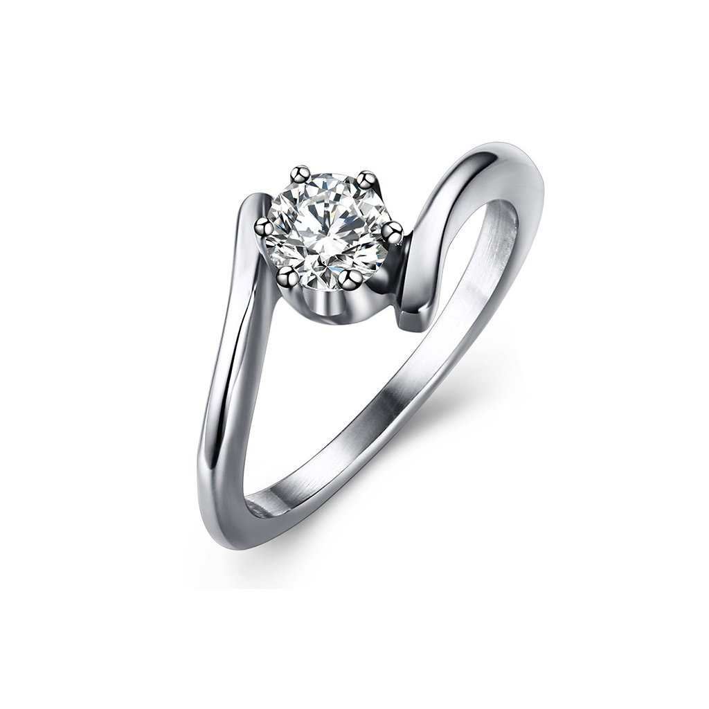 b3c771c4b Oceľový prsteň - esíčkový vzor - mŠperk.sk