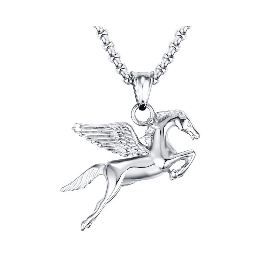 dae451205 Prívesok z chirurgickej ocele pre milovníkov koní - mŠperk.sk