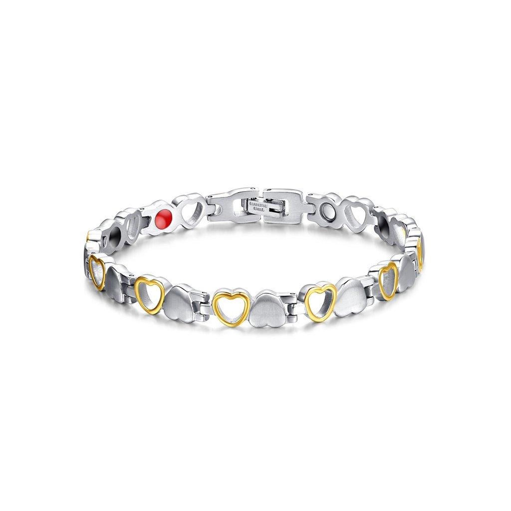 f6616d520 Dámsky magnetický náramok tvar srdca - mŠperk.sk