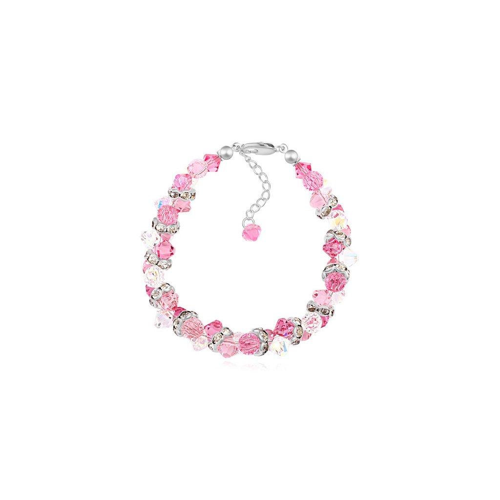 Elegantný dámsky náramok s kryštálmi Crystal Rose - mŠperk.sk d662960594b