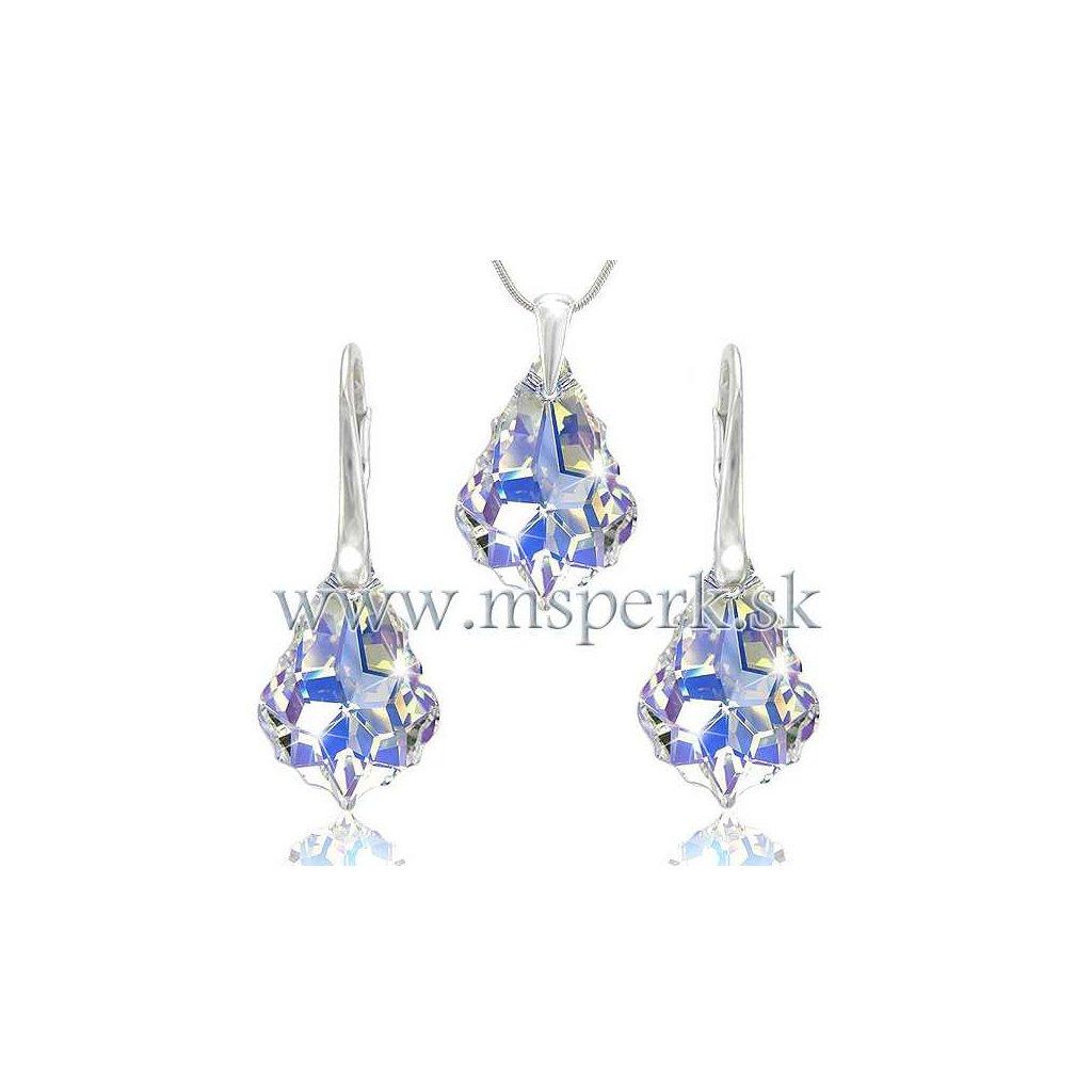 Set SWI crystal 22 mm s fialovým odleskom