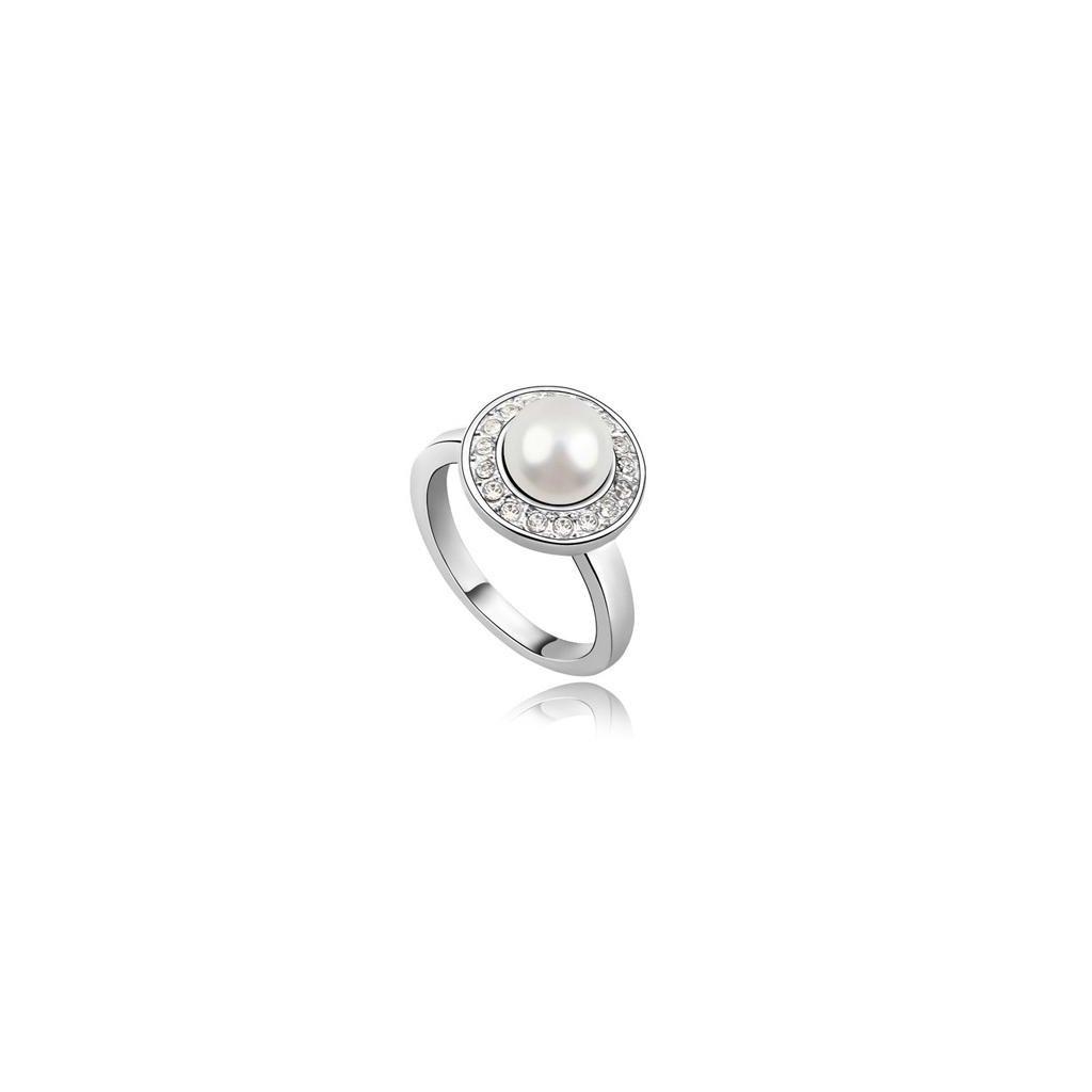 259cd3c52 SWI crystal ring Pearl 1657 - mŠperk.sk
