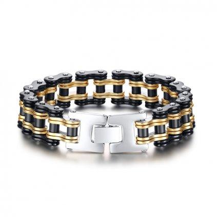 Stainless Steel Bike Link Bracelets