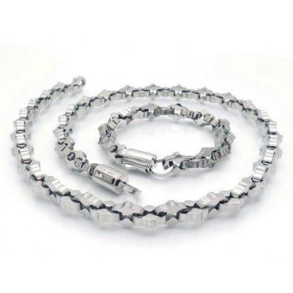 Luxusná pánska súprava Retiazka a nárhrdelník