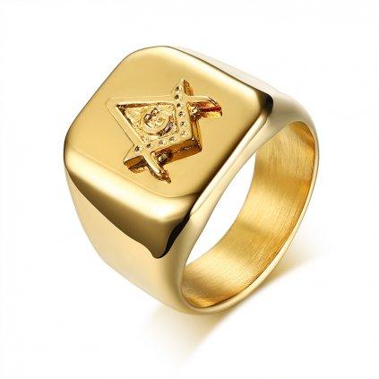Luxusný pánsky prsteň z chirurgickej ocele G-star