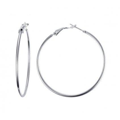 Náušnice kruhy z chirurgickej ocele 50 mm 2