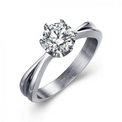 Dámsky prsteň so zirkónom 1