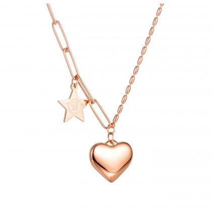 Dámsky náhrdelník so srdiečkom a hviezdou 4